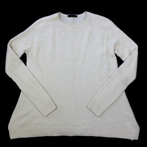 The Row Cashmere Silk Crew Neck Sweater